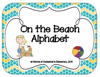 On the Beach Alphabet Cards