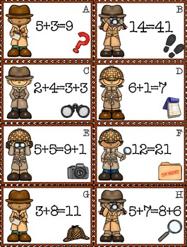 On the Case: Math Sleuths
