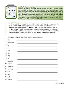 English worksheets: 2. Medical Terminology - Prefixes