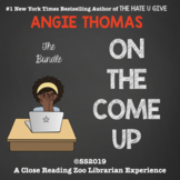 On the Come Up by Angie Thomas CCSS aligned Distance Learn