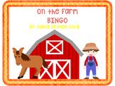 On the Farm- Bingo