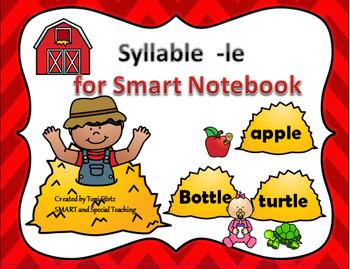 Smart Board  Syllable -le (Orton-Gillingham Phonics)