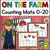On the Farm Counting Mats 0-20