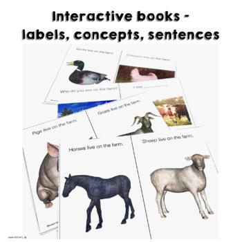 On the Farm: Early Education Language Unit receptive & expressive language