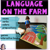 On the Farm Early Receptive and Expressive Language Activities