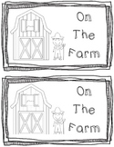 On the Farm Emergent Reader