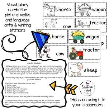 Farm Shared Reading Read & Sing Early Reader