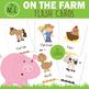 On the Farm Flash Cards