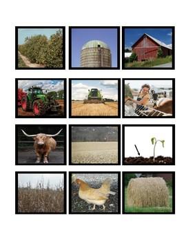 On the Farm-Flashcards