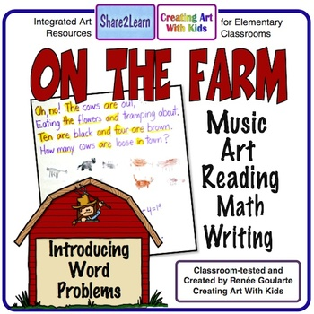Farm Song Kindergarten Integrated Math, Art, and More