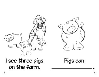 On the Farm Interactive Reader