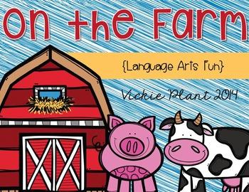 On the Farm {Language Arts Fun}
