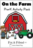 On the Farm - Mini Activity Pack
