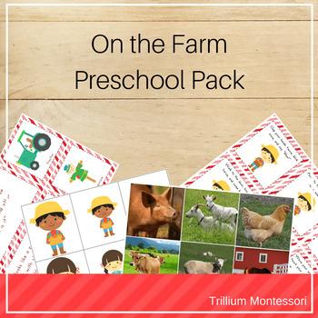 On the Farm Preschool Pack