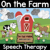 On the Farm - Preschool - Speech Therapy - Distance Learni