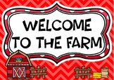On the Farm Role Play Dramatic Play Set Bundle