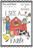 On the Farm Sight Words Reader and Practice
