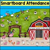 On the Farm SmartBoard Attendance
