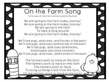 On the Farm Song