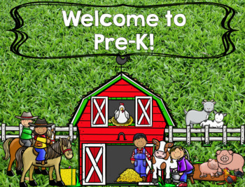 On the Farm Welcome to All the Grades Sign