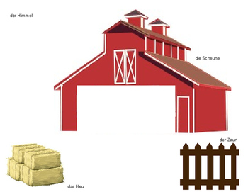 On the Farm with Prepositions