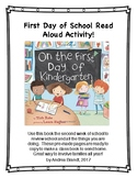 On the First Day of Kindergarten - Kindergarten Read Aloud