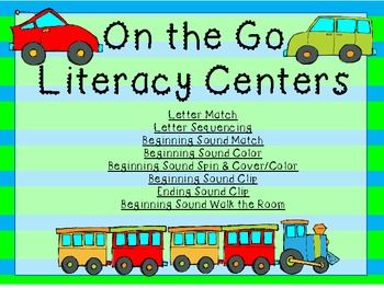 On the Go Transportation Literacy Pack