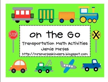 On the Go Transportation Math Activities