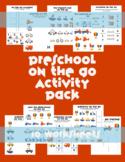 On the Go Transportation Preschool Packet