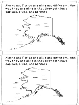 On the Map:  Comparing Florida and Alaska Through Maps