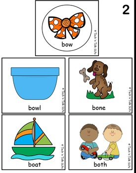 On the Mark Quick Check Final Consonant Deletion - Minimal Pairs