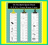 On the Mark Quick Check S, Z, R, L, S Blends, R Blends, L Blends