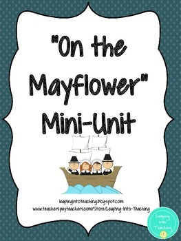 On the Mayflower Writing Mini-Unit