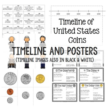 Presidents' Day Activities - Learn about US presidents through coins & more