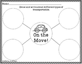 On the Move! Comprehension Game Kindergarten