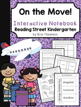 On the Move! Interactive Notebook ~ Reading Street Kindergarten
