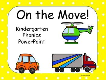 On the Move, Kindergarten, Unit 5, Week 5, Interactive PowerPoints