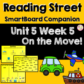 On the Move! SmartBoard Companion Kindergarten