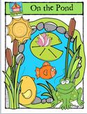 On the Pond {P4 Clips Trioriginals Digital Clip Art}