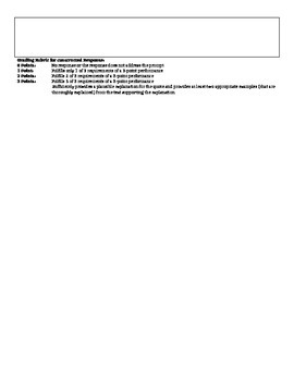 """On the Rainy River"" MSL/Final/Common Exam PRACTICE"