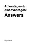 On the Road - Adv Dis Answer Key
