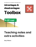 On the Road - Adv Dis Teaching Notes