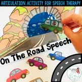On the Road Speech: Articulation Activity for Speech Therapy