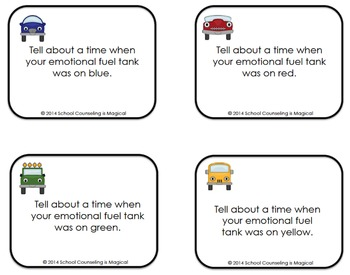 On the Road to Emotional Regulation (game, posters, social story)