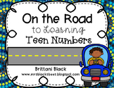 On the Road to Learning Teen Numbers