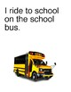 On the School Bus - The social story