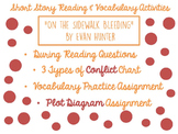 """""""On the Sidewalk Bleeding"""" Reading and Vocabulary Activities"""