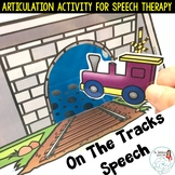 On the Tracks Speech: An Articulation Activity for Speech Therapy