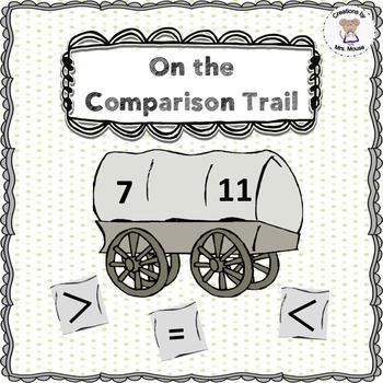 Math- GreaterThan/Less Than - On the Comparison Trail