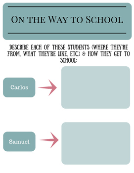 On the Way to School: Documentary Packet